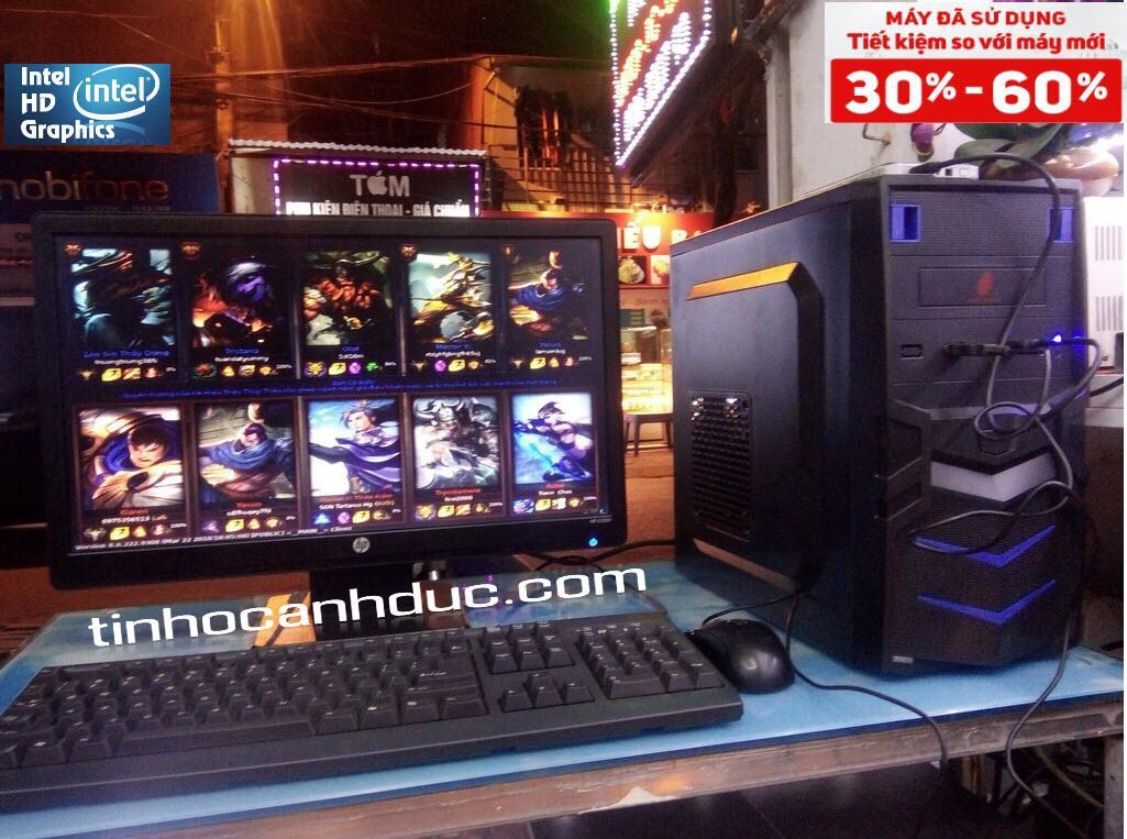 Bộ Máy PC ADA319 + Màn Hình LCD 19 Chữ Nhật Tặng Phím Chuột MỚI Đang Trong Dịp Khuyến Mãi