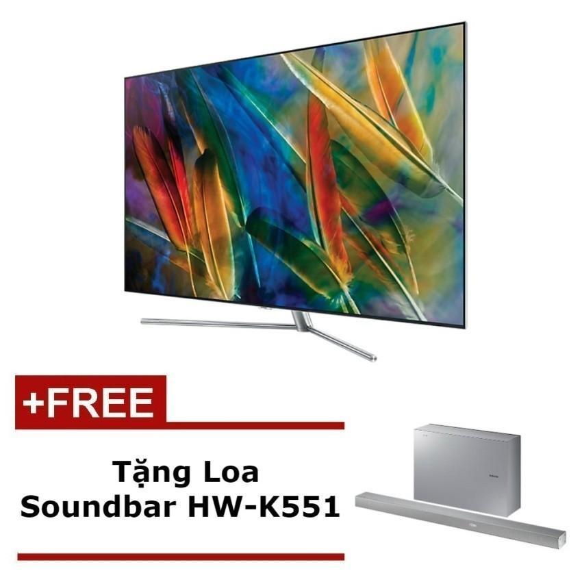 Hình ảnh Smart TV QLED Samsung 65inch 4K – Model QA65Q7FAMKXXV (Đen) - Hãng phân phối chính thức + Tặng Loa Soundbar HW-K551