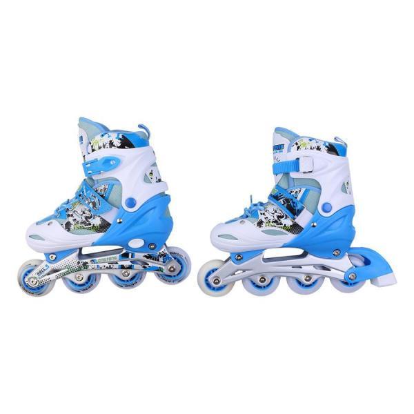 Giá bán Giày Patin Long Feng 906 - Xanh nhạt - Size M (35 - 38)