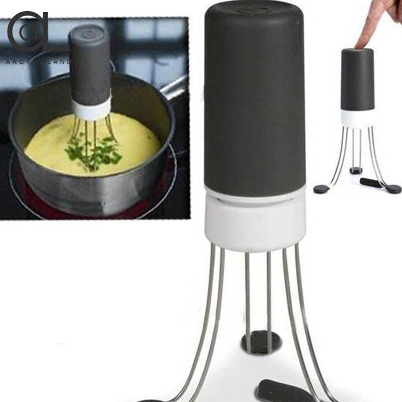 Hình ảnh New Electric Coffee Whisk Coffee Frother Egg Beater Home Kitchen Gadget