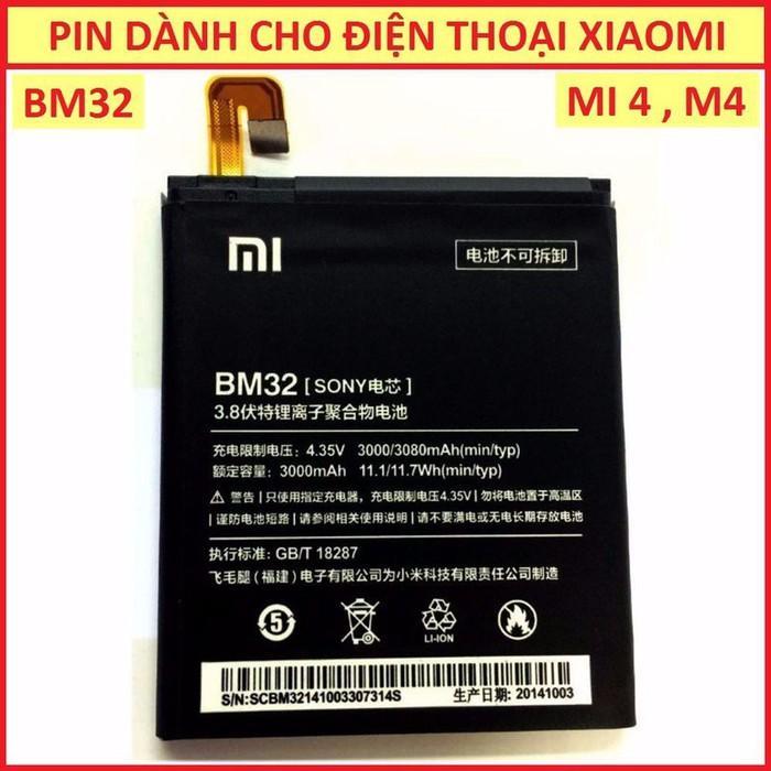 Hình ảnh PIN CHO XIAOMI MI 4