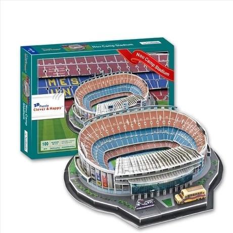 Mô Hình Lắp Ghép Sân Vận động Bóng đá Camp Nou ( Barca) Đang Có Giảm Giá