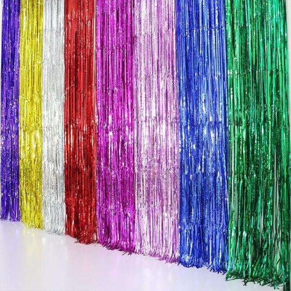 Combo 2 rèm kim tuyến trang trí sinh nhật. Dùng làm phông nền trang trí sinh nhật, đám cưới, sự kiện,party hoặc có thể dùng làm phong nền chụp hình nghệ thuật trong studio.