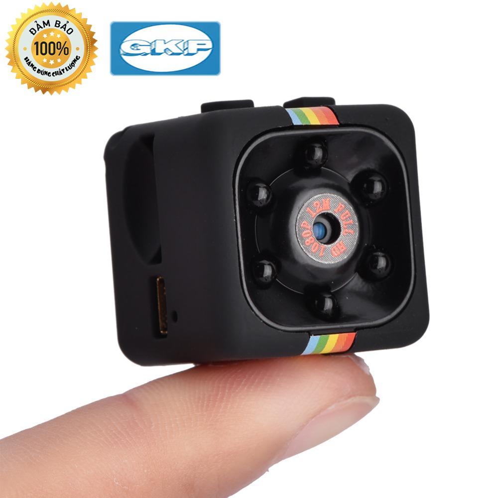 Camera siêu mini SQ11, camera hành trình lên đến 2 triệu điểm ảnh, hỗ trợ thẻ nhớ lên đến 32GB, xoay được 360 độ
