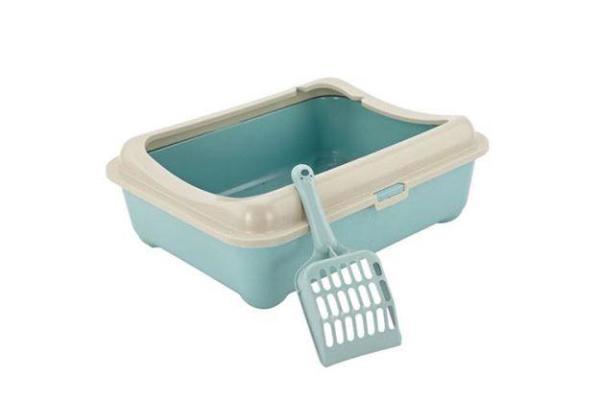 Khay vệ sinh mèo vuông to ( 1-5 kg)