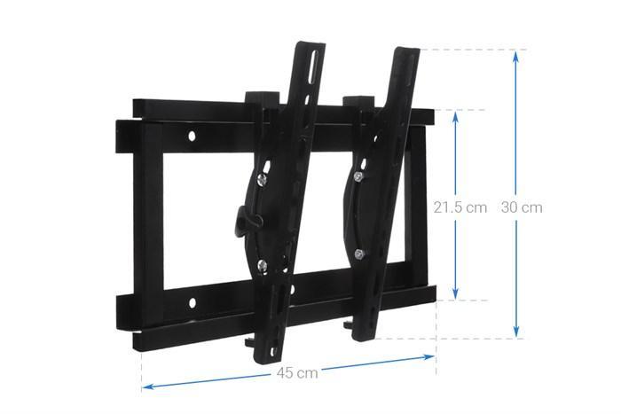 Hình ảnh Khung treo cao cấp Tivi LCD-LED-PLASMA nghiêng cao cấp N4.3 19 - 37 inch (Đen ) - Huy Tưởng ( Có clip hướng dẫn lắp đặt )