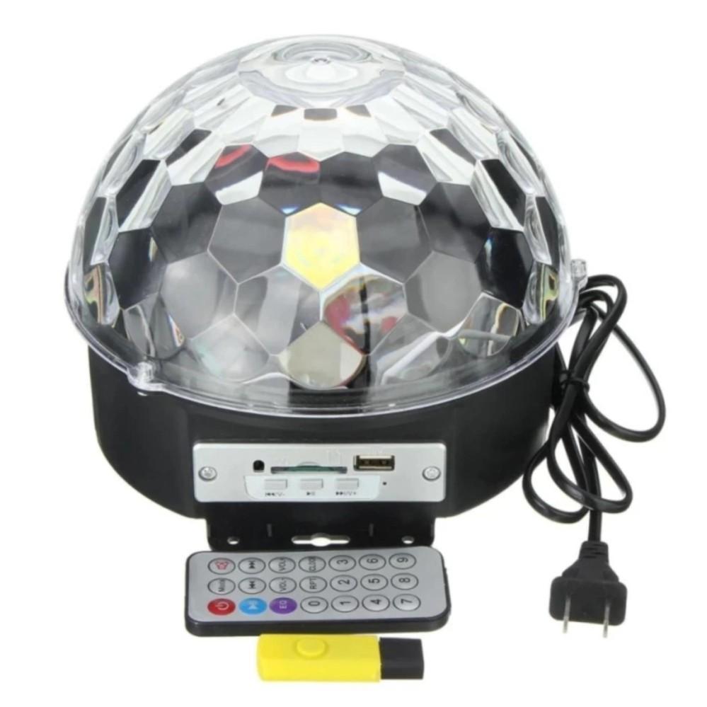 Đèn Led Pha Lê 7 màu cho Sân Khấu, phòng Karaoke cảm biến theo nhạc