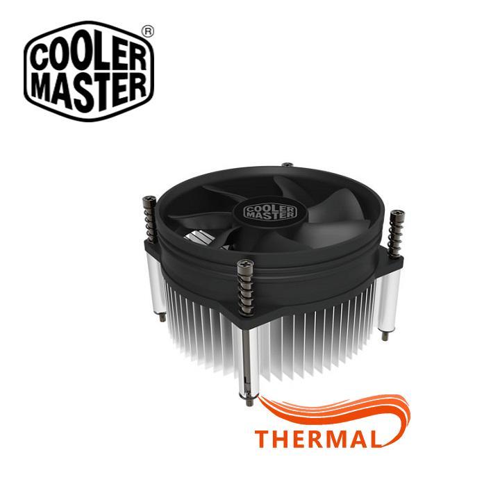 Quạt tản nhiệt cpu Cooler Master I50 [ThermalVN] - Sức gió tốt, quay êm