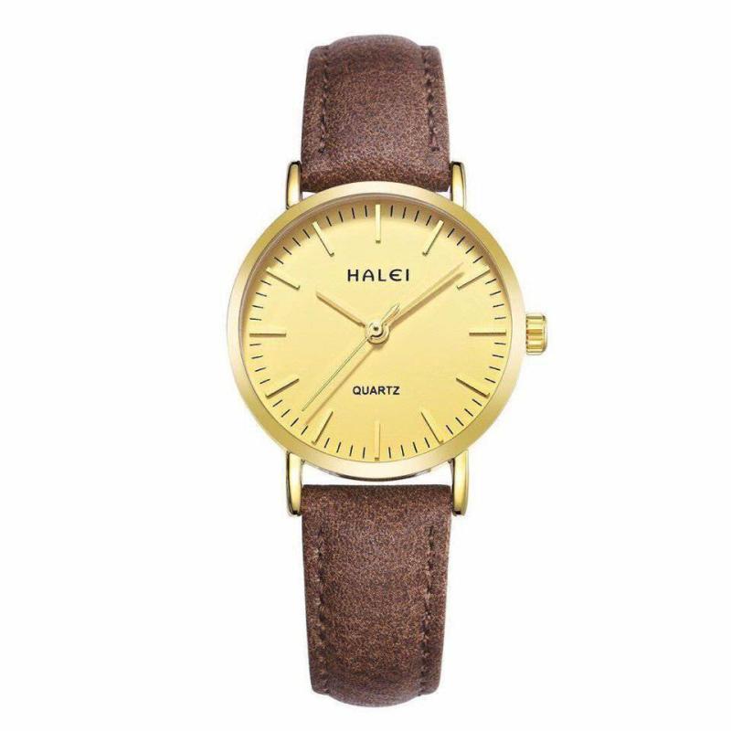 Đồng hồ nữ Halei dây da mềm cực chất