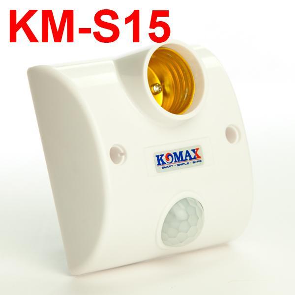 ĐUI ĐÈN CẢM ỨNG HỒNG NGOẠI CHÍNH HÃNG KOMAX KM-S15