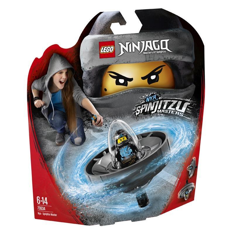 Hình ảnh Cao Thủ Lốc Xoáy Nya LEGO NINJAGO - 70634 (69 chi tiết)