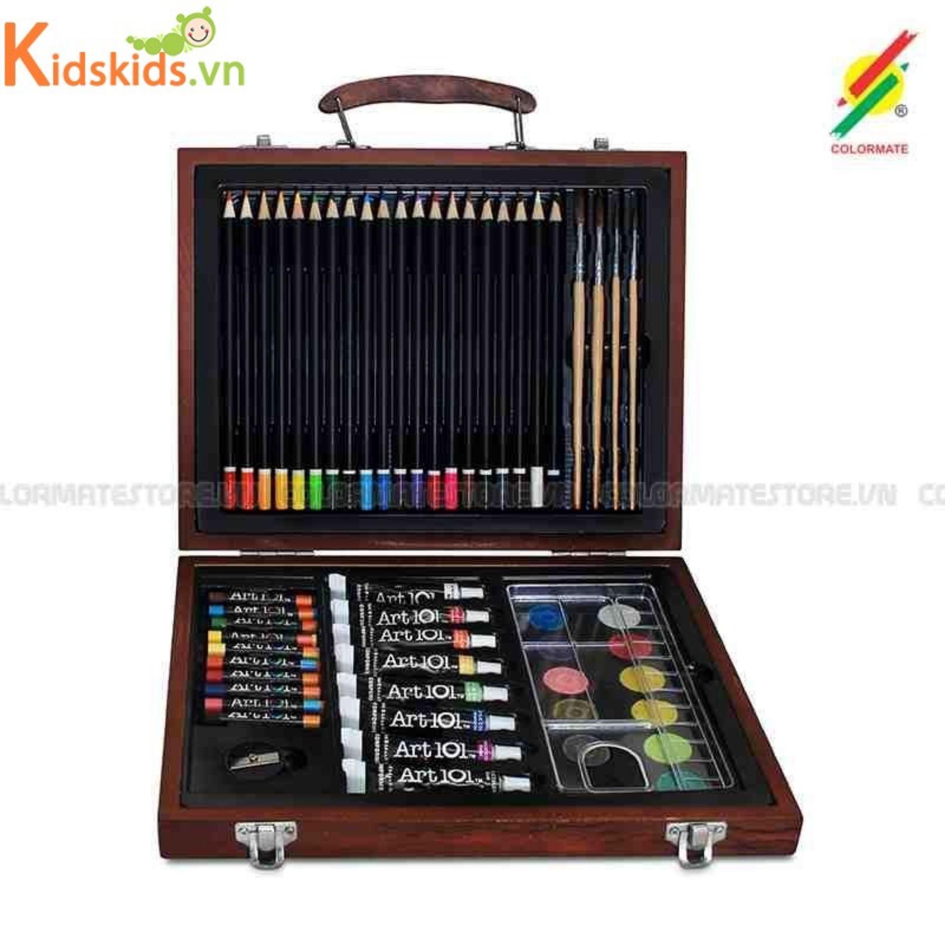 Bút Màu Hộp Gỗ M 58 Colormate Đang Có Ưu Đãi