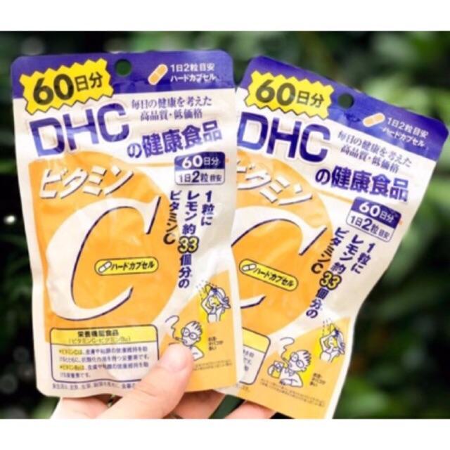 Viên uống Vitamin C DHC 60 ngày 120 viên (date 3/2021)
