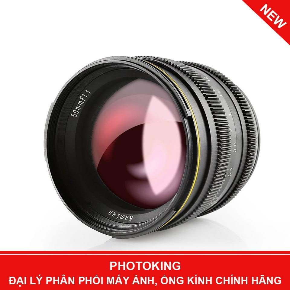 Mua Ống Kinh Kamlan 50Mm F 1 1 Manual Focus Lens Fuji X Mount