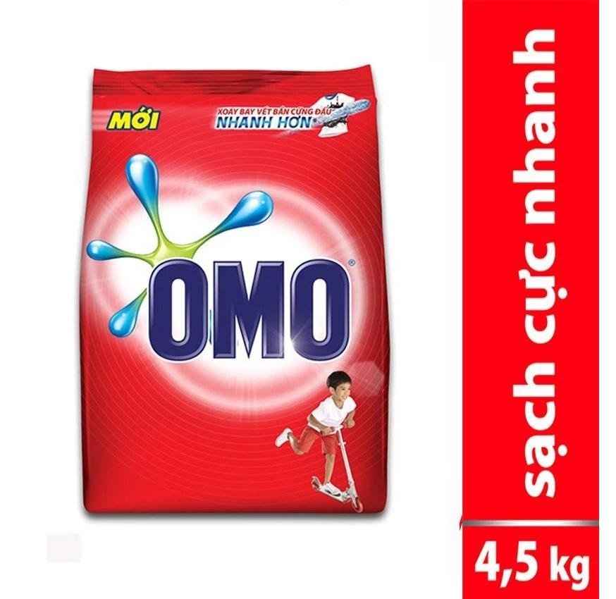 Bột Giặt Omo Đỏ 4.5kg