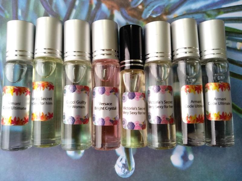 [8 lăn - chọn mùi] Tinh dầu nước hoa Pháp lôi cuốn