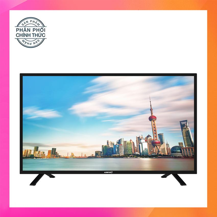 Tivi LED Asanzo 40inch Full HD – Model 40T550 (Đen) Tích hợp DVB-T2