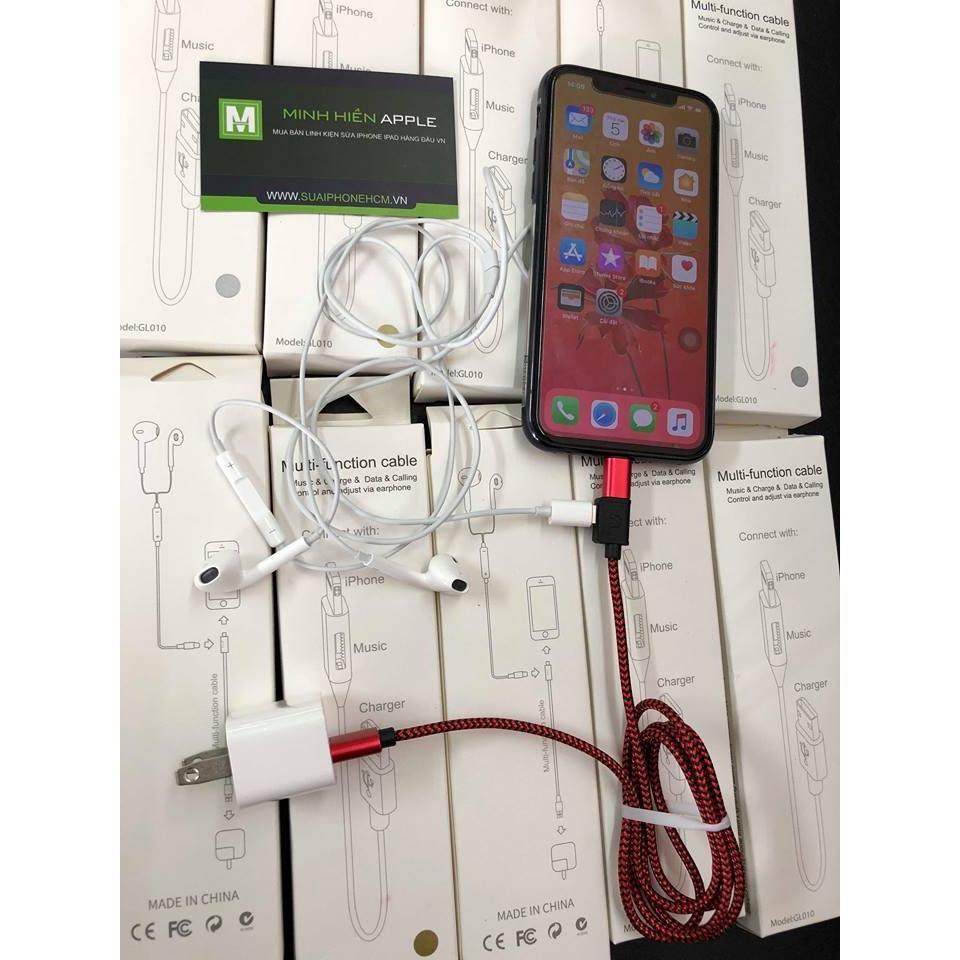 Bán Cap 2In1 Iphone 7 8 Iphone X Vừa Nghe Nhạc Vừa Sạc Trực Tuyến