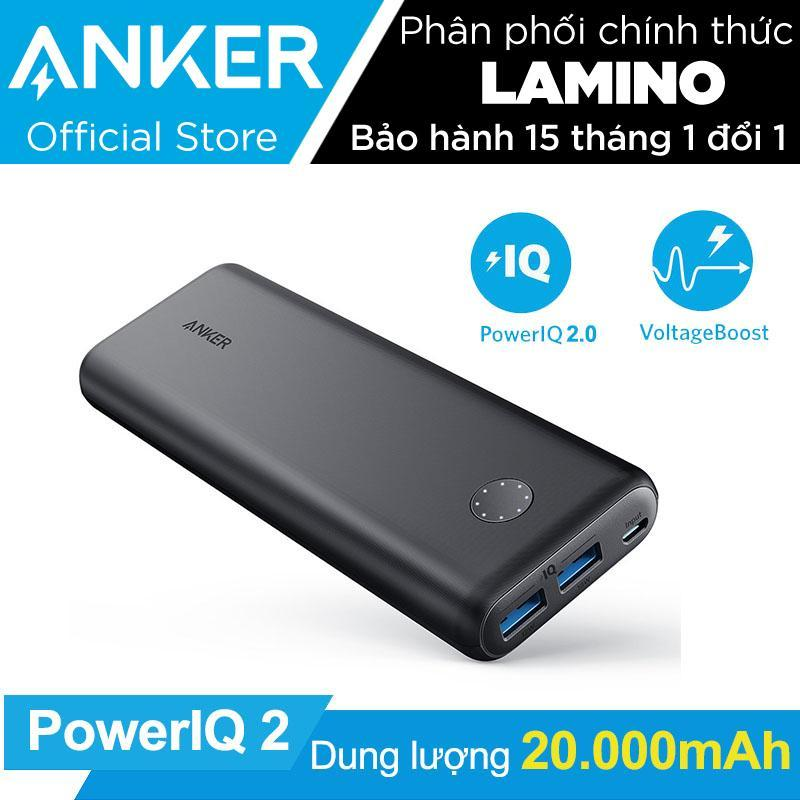 Giá Pin sạc dự phòng ANKER PowerCore II 20000mAh PowerIQ 2.0 (18w output) - Hãng phân phối chính thức