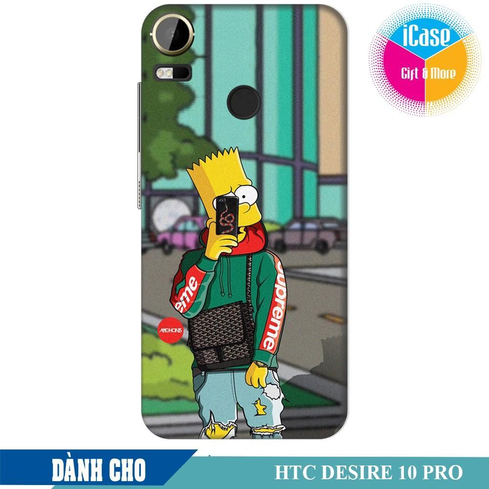 Hình ảnh Ốp lưng nhựa dẻo dành cho HTC Desire 10 Pro in hình Bart Simpson