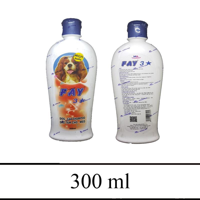 Dầu tắm Fay 3 Sao 300ml