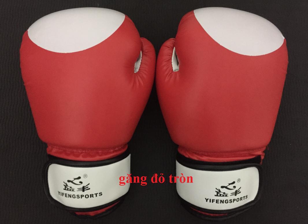 Găng boxing, tán thủ, muay, cổ truyền, vovinam Size 10 OZ
