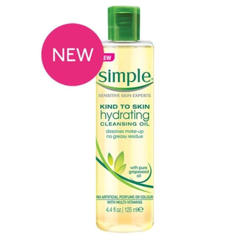 Dầu Tẩy Trang Simple Hydrating Cleansing Oil – 125ml
