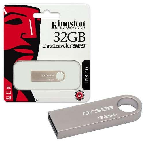 Hình ảnh USB 32GB Kingston DataTraveler SE9 Tem FPT Bảo hành 5 năm lỗi 1 đổi 1 + Tặng 01 đầu chuyển đổi thông minh OTG kết nối Usb với các thiết bị thông minh