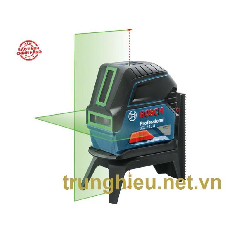 Máy cân mực tia laser xanh Bosch GCL 2-15 G