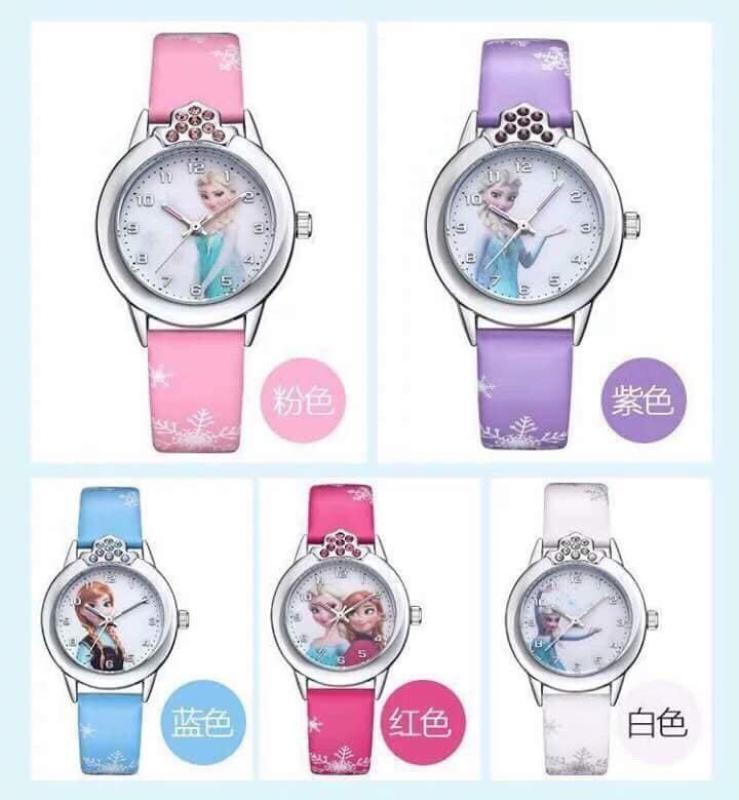 Đồng  hồ đeo tay elsa cho bé gái cực yêu thích bán chạy