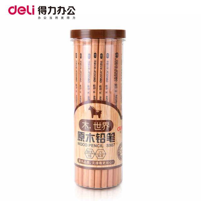 Mua Combo 2 Hộp bút chì gỗ Deli (50 cái) - Kmart
