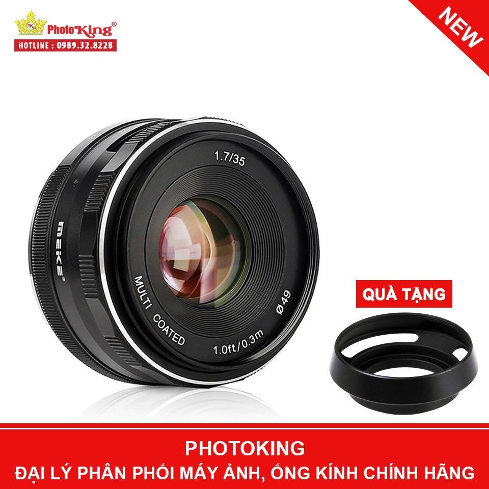Giá Bán Ống Kinh Meike 35Mm F 1 7 Mf Lens Fuji X Mount Tặng Kem Hood Kim Loại Dang Leica Meike Nguyên