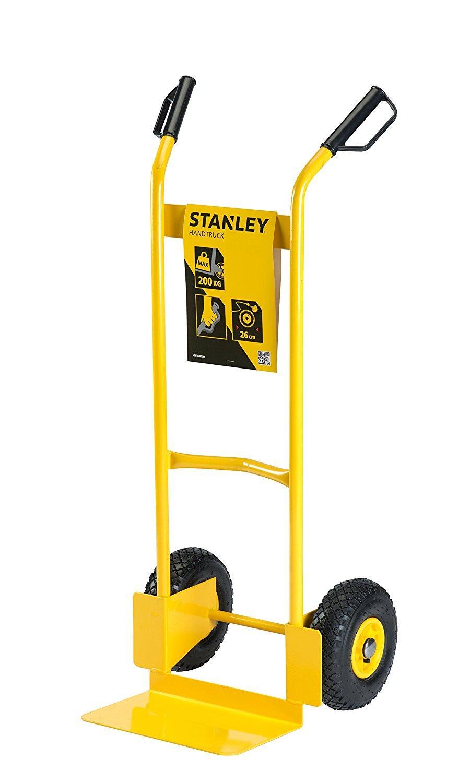 Xe đẩy tay 2 bánh cao cấp Stanley HT522 (tải trọng 200kg).
