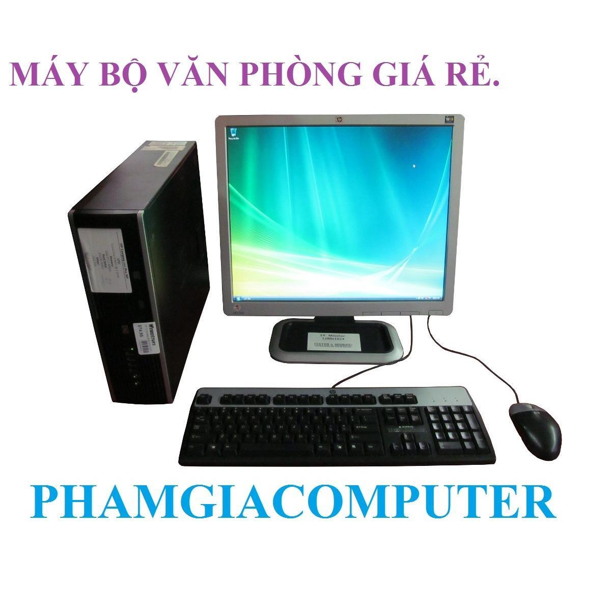 Mua Bộ May Tinh Văn Phong Hp Dc6000 Sff Core E8400 4G 160G Lcd Hp 17In Phim Chuột Rẻ Trong Hồ Chí Minh
