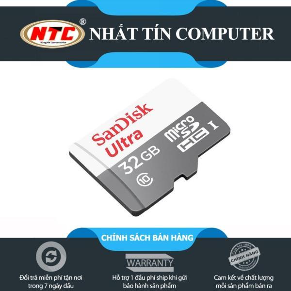 Thẻ nhớ MicroSDHC SanDisk Ultra 32GB 80MB/s (New)