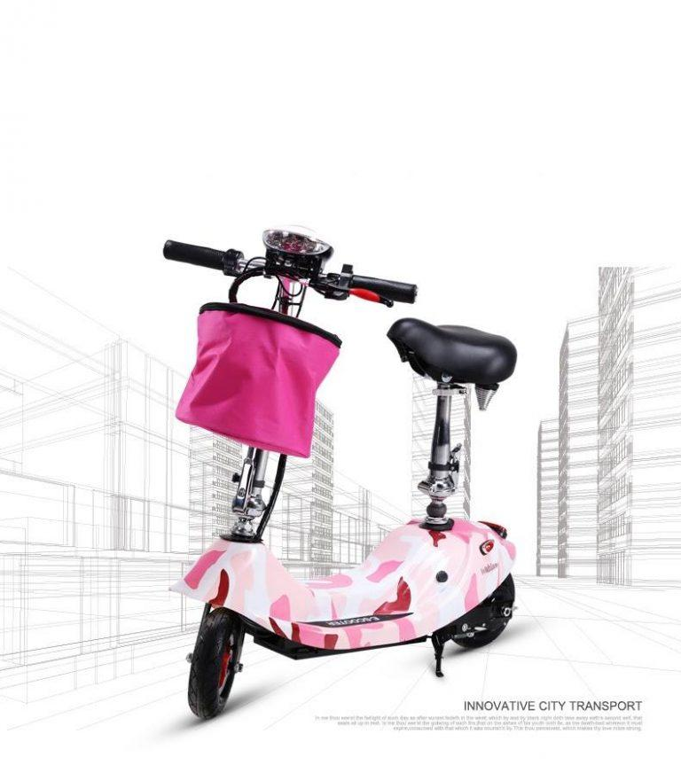 Xe máy điện Mini Scooter gấp gọn tiện dụng