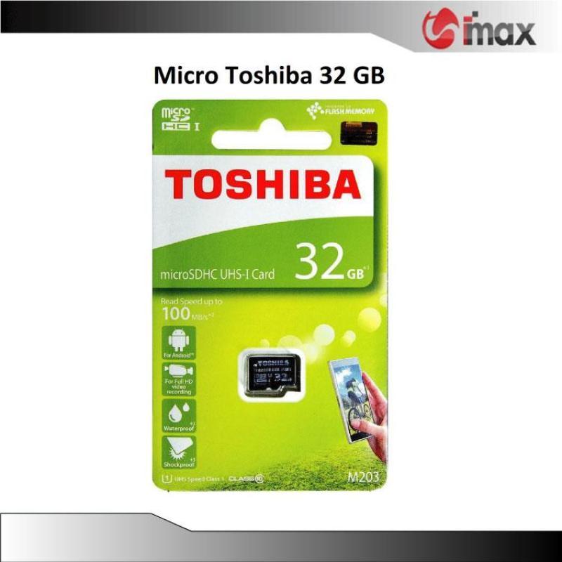 Thẻ nhớ Micro SDHC Toshiba 32 GB (100Mb/s)