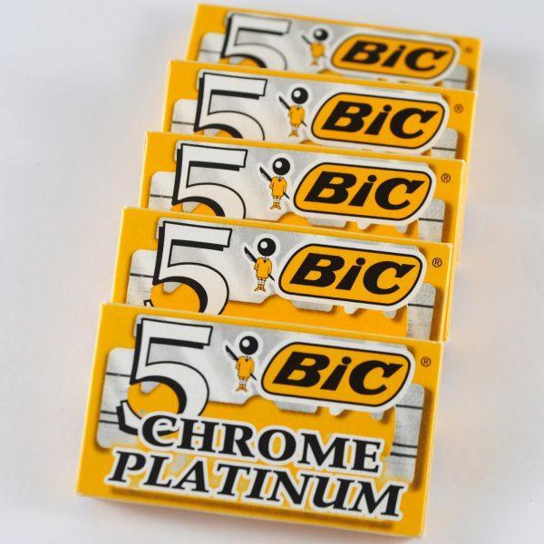 5 Hộp lưỡi lam BIC mỗi hộp 5 lưỡi nhập khẩu