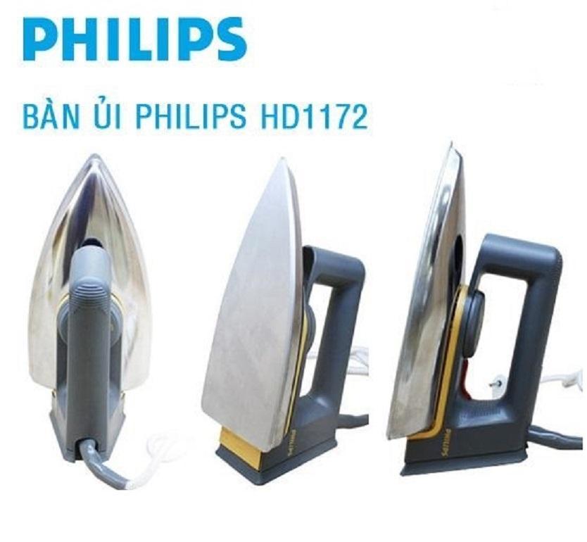 Hình ảnh Bàn ủi Philip HD1172 (Hàng Nhập khẩu)