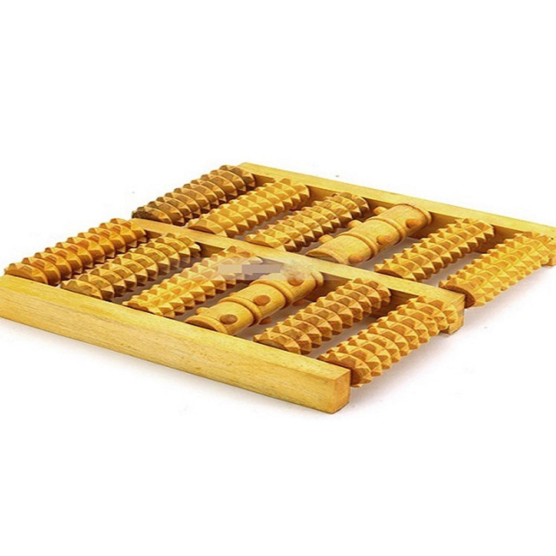 Bàn lăn chân bằng gỗ chính hãng