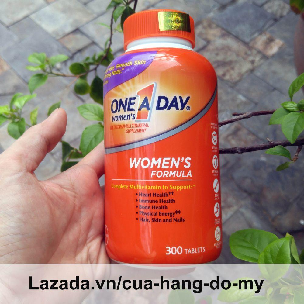 Viên uống Vitamin Tổng Hợp Cho Nữ One A Day Womens Multivitamin Formula Của Mỹ, 300 viên, Mẫu mới