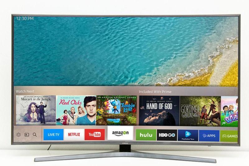 Smart Tivi Cong Samsung 4K 55 inch UA55KU6500 chính hãng