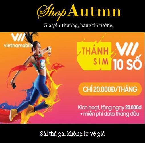 Hình ảnh 10 số siêu rẻ - Thánh sim 3G Vietnamobile - MIỄN PHÍ SHIP - FREE 4Gb/ngày