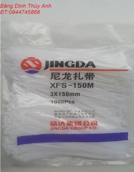1000 Sợi Dây Thít, Dây Buộc Nhanh, Lạt Nhựa 3x150mm