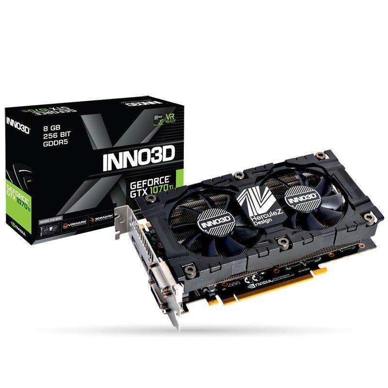 VGA INNO3D GTX 1070TI 8GB (N107T-2SDN-P5DS)