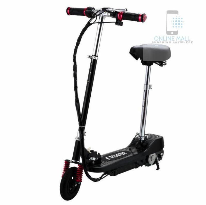 Giá bán Xe scooter điện tốc độ tối đa 15km/h, tải trọng 75kg (Đen)
