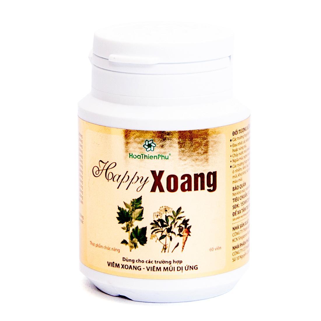 Viên uống viêm xoang Happy Xoang ( 60 viên ) nhập khẩu