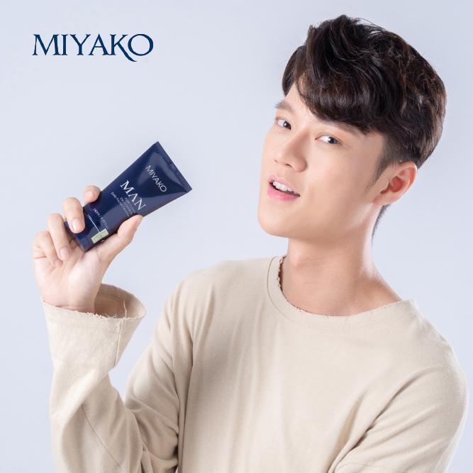 Sữa Rửa Mặt Dưỡng Da Nam MIYAKO Hàn Quốc