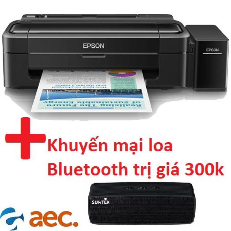 Máy in phun màu Epson L310 ( đã có 4 chai mực Hàn Quốc đi kèm ) + khuyến mãi loa Bluetooth trị giá 300k