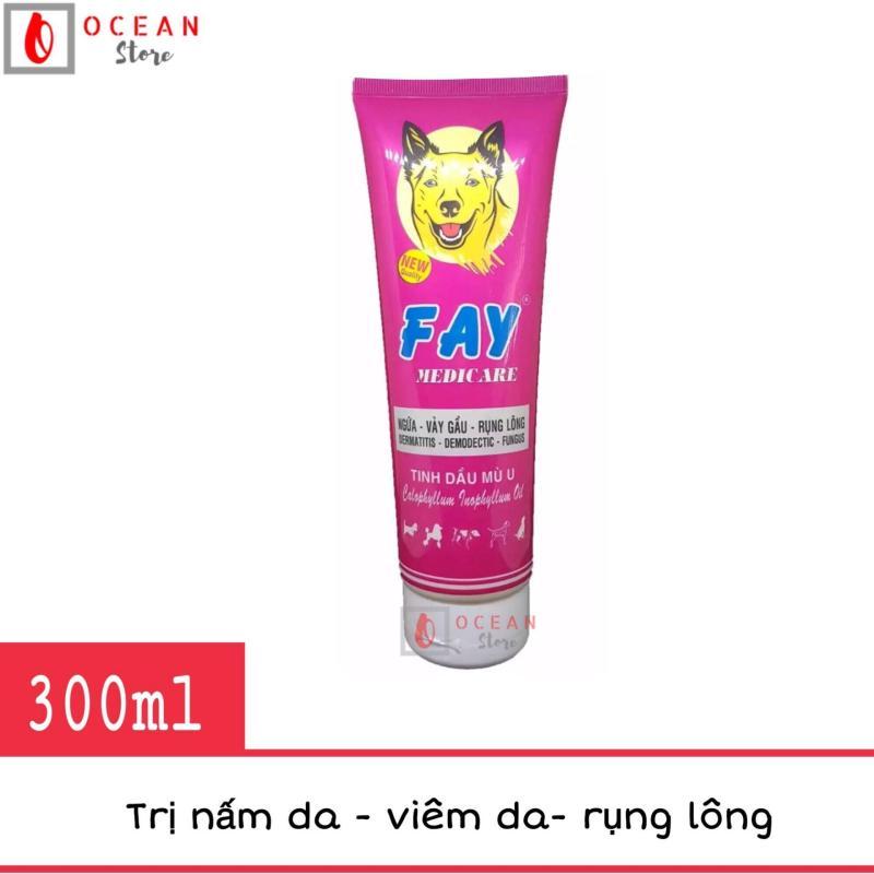 Sữa tắm trị nấm da, viêm da, rụng lông cho chó - Fay Medicare 300ml